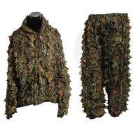 Leaf 3D adulti del vestito di Ghillie Woodland Camo / camuffamento caccia al cervo in Stalking