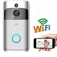 Smart Door Bell 2.4G RF Ring Wireless Timbre WiFi Visual Cámara Teléfono Alarma antirrobo Alarma Inicio Seguridad Timbre