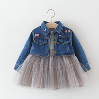 New 2019 baby girl clothes kids designer clothes girls Outfi...