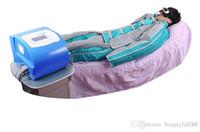 24 bolsas de aire presoterapia presión del masaje de drenaje linfático / Aire Detox / adelgazan el juego Aire onda sistema de terapia