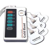 منصات استبدال مدلك الكهربائية XFT-502 TENS منخفضة التردد نبض العلاج متر + 10 ورقة القطب
