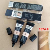 2020 Maquillaje Concurrente Bye Bye Bajo Crema Ojo Cobertura Completa Cubierta Impermeable Ojos Fundación Primer 12ML Luz Mediana Alta Calidad