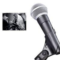 Neweat S M58 S الديناميكي ميكروفون صوتي مع على قبالة التحول صوتي السلكية كاريوكي المحمولة ميكروفون ذات جودة عالية للمرحلة الاستخدام المنزلي