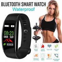 Smart Bransoletka Fitness Tracker Zegarek Sport Krokomierz Tętno Smart Band Ciśnienie Monitor Wodoodporny Nadgarstek