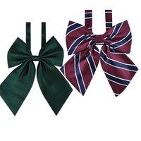 Verstellbarer Fliege Neck Blume Cravat Neckwear Dot Gestreifte Erwachsene Frauen Student Girl Abendparty Cosplay Zubehör