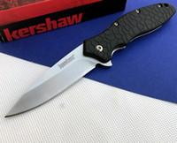 Grande Kershaw coltello pieghevole 1830 OSO Browning DA50 X78 coltello da tasca di campeggio