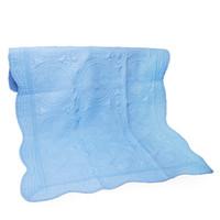 코 튼 공백 담요 도매 공백 Scalloped 퀼트 베이비 담요 샤워 덮개를위한 핸디 샤워 커버 무료 배송 DOM106538