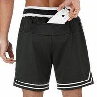 2020 NUEVOS Hombres corrientes gimnasios hombres de los cortocircuitos del camuflaje del verano masculino entrenamiento de malla transpirable de secado rápido del basculador pantalón corto