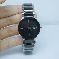 Новая мода мужчина женщина часы класса люкс кварц движение часы для мужчин наручные часы керамические часы rd06