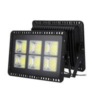 50 Вт 100 Вт 200 Вт 300 Вт 400 Вт 500 Вт AC110V / AC220V водонепроницаемый светодиодный прожектор прожектор наружного освещения Exterieur COB прожектор