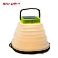 Katlanabilir fan bıçak ışık ayarlanabilir katlanır güneş açık kamp çadır lambası şişme ışık LED kamp ışık (20-Pack)