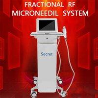 마이크로 바늘 RF 주름 제거 휴대용 장비 분수 RF 기계 여드름 흉터 제거 RF를 강화 마이크로 니들 피부를 마이크로 바늘