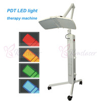 4 colores 120mw por luz PDT LED Máquina de rejuvenecimiento de la piel Fotón LED Terapia Luz Facial Piel Tonificación Acné Dispositivo de belleza de la eliminación de arrugas
