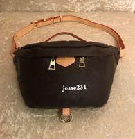 Venta al por mayor nueva moda cuero de la PU bolsos de flores marrones bolsos de las mujeres diseñador riñonera famosos bolsos de la cintura bolso bolso de señora cinturón