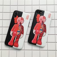 KAWS Dissected Companion action figures toys Case for iPhone...