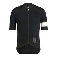 Rapha 2019 Nuevos hombres Equipo Ciclismo Mangas cortas Jersey Ciclismo Ropa transpirable Al aire libre Bicicleta de montaña Sportswear K072704