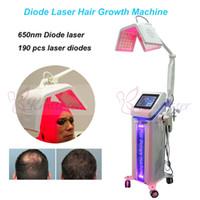 650nm 다이오드 레이저 머리 성장 기계 아름다움 탈모 처리 머리 재성장 레이저 아름다움 기계