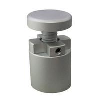 (Paquet / 10 unités) Side Clamp 4 Way Mound Connectez-vous pour Standoffs bois, verre, PVC, verre volet C-2525-ST