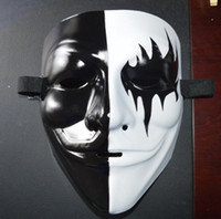 Vendetta маски Halloween Party Дух танец Маска Halloween Анонимной Преступность Маска Fancy Косплей анфас V Маска GGA2751