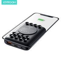JOYROOM Chargeur sans fil Banque d'alimentation portable 10000mAh Powerbank Chargeur rapide de charge avec Ventouse pour iPhone 11 Samsung S20