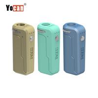 Yocan uni box mod 650mAh precalentamiento de la batería altura ajustable y el soporte de diámetro ajuste todos los cartuchos de aceite grueso de atomizador Vape Pen 10 colores
