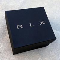 الأزياء RO نمط العلامة التجارية الكرتون ورقة مربع ووتش صناديق حالات