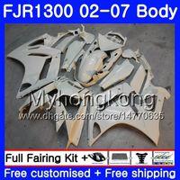 Glossy white hot Kit For YAMAHA FJR1300A 2001 2002 2003 2004 2005 2006 2007 2AAHM.AA FJR 1300 FJR-1300 FJR1300 01 02 03 04 05 06 07 Fairings