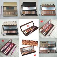 Maquillage palette fard à paupières 12 chatoiement de couleur de fard à paupières fard à paupières mat Palette NO 1 2 3 4 5 palette de chaleur DHL
