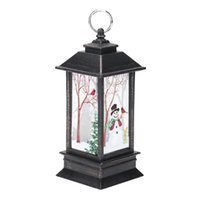 Portacandele di Natale Appeso Lanterna Candelieri Vintage Lampada Chritmas Per Finestra Decorativa Casa Santa Lampada