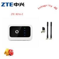 Anten PK e5220 e5336 e5330 ile ZTE Vodafone R216 R216-Z 4G LTE 150Mbps Mobil Noktası Cep yönlendirici yönlendirici 4g açılır