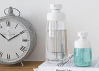 الجملة 100pcs المحمولة البسيطة زجاجة قابلة لإعادة التعبئة رذاذ فارغة التجميل حاويات البخاخة المسافر