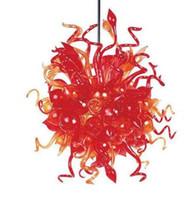 All'ingrosso lampade a lampade a lampade di Murano AC 110-240V Professionista China fabbrica fabbrica fabbrica fiore fiore pendente in vetro luci lampadario