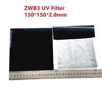 Filtro Passaggio UV 150x150x2.0mm ZWB3 253.7 254nm UG5 U-330 DNA Analizzatore di analizzatore del DNA