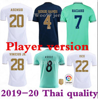 HAZARD Player version Soccer jerseys real Madrid 19 20 JOVIC...