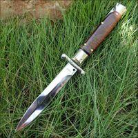 BM 9inch cobra madeira italiana faca de dobramento faca automática Tatical Tactical EDC Bolso Duplo Ação Manual UT85 Auto Sobrevivência Faca