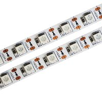 5V LED-Lichtstreifen SMD 5050 60LEDS / M Wasserdichte LED Flexible Flash-LEDs Seil Lichter für TV, Bettraum, Auto, Boot, Weihnachtsbaum