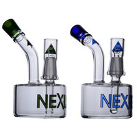 5. 1 Inchs nexus thick glass bongs blue green smoking water p...