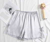 yay ipek pantolon kadın dantel Kore versiyonu ışık tozluk gündelik ev şort nefes alabilen üç noktalı emniyet pantolon karşıtı-go