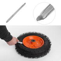30cm 자동차 타이어 수리 도구 더블 엔드 곡선 타이어 레버 크로우 플레이트 자동 자동차 휠 타이어 수리 도구 대부분의 자동차 고품질