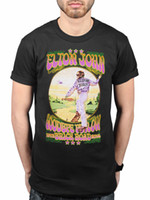 T-shirt officiel des hommes de Sir Elton John Vintage Graphic M L 234XL N207