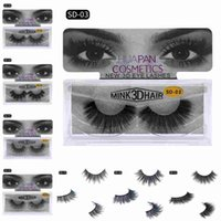3D Mink Eyelashes Eyelashes Messy Eye Lash Extension Sexy Ey...
