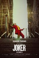 affiche Joker soie d'impression d'art nouveau film