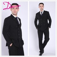 High quality Tuxedos Classic Fit Best Man Suit Grooms Men&#0...