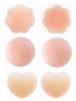 سعر المصنع! 1000Pairs المرأة مثير قابلة لإعادة الاستخدام سيليكون البرازيلي غطاء الحلمة تصحيح الثدي فطائر اللحم ذاتية اللصق تصحيح الحلمة عارية