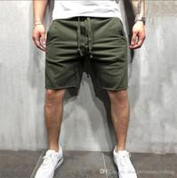 Gymlocker Herren Designer Sommer kurze Hosen Solid Color Laufen Bekleidung Hip Hop Sport eisure Jogger Jogginghose
