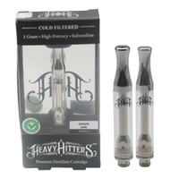 Heavy Hitters Cartridge 1. 0ml Pyrex Glass Tank Hitter Cerami...
