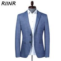 الرجال الدعاوى الحلل رينر 2021 ربيع الخريف جودة عالية بدلة الأزياء سليم الرجال السترة سترة الذكور الأعمال عارضة الملابس M-4XL