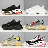 2018 Fashion Paris 17FW Triple- S Sneaker Triple S Casual Dad...