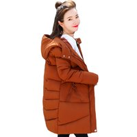 Korean Style Winter Jacket Women 2020 new arrival Hooded Cot...