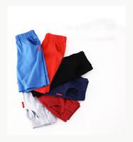 높은 품질 디자인 여름 소년면 캐주얼 반바지 패션 큰 어린이 스포츠 바지 아동 의류 3-8년 된 6 색